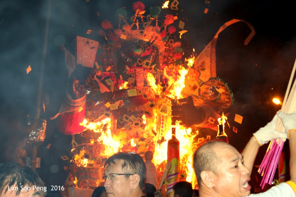 The Burning Ceremony of the Tai Soo Yah's image of Bukit Mertajam - Part 2 on the night of Friday, 19 August, 2016.