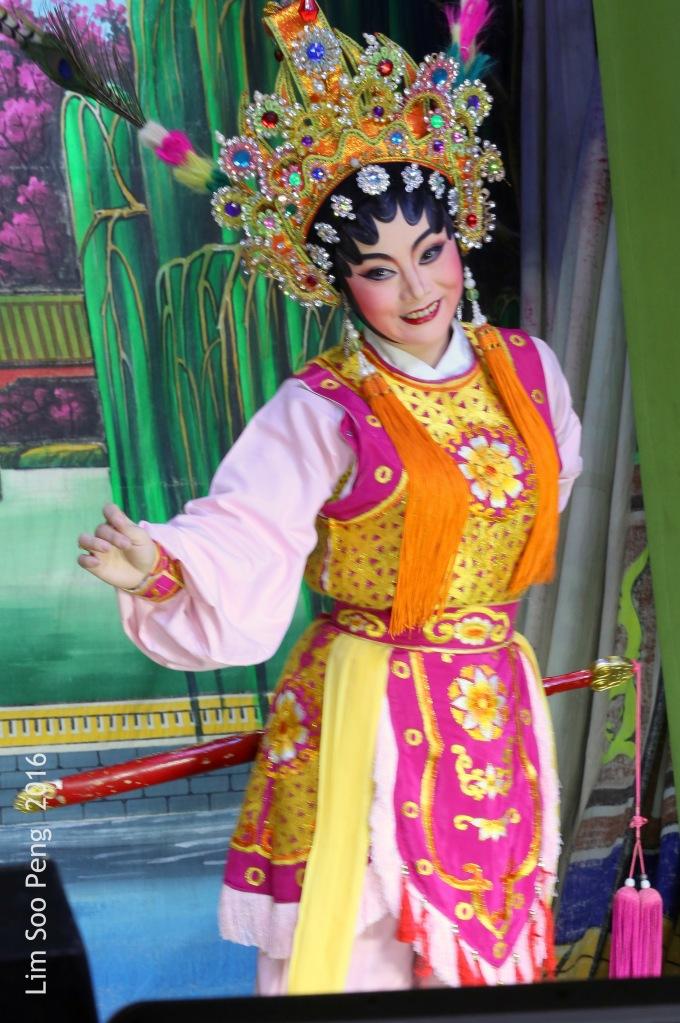 The Teochew Chinese Opera or Wayang taken at Ayer Itam, Penang.