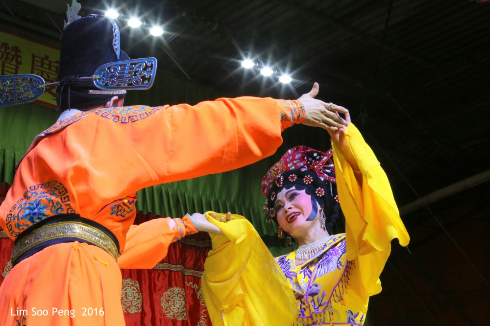 """Teochew Opera - The Murder Plot of the Emperor Part 1. """" Flirting between the Emperor's Concubine and the Prince """""""