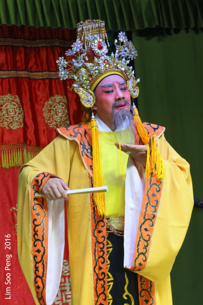 "Teochew Opera - The Murder Plot of the Emperor Part 1. "" The Emperor - will he be poisoned ? """