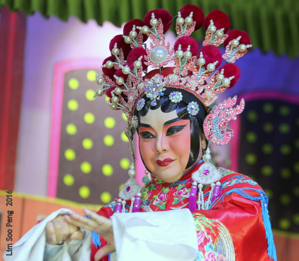 My Wayang or Chinese Opera Photography started from last night.