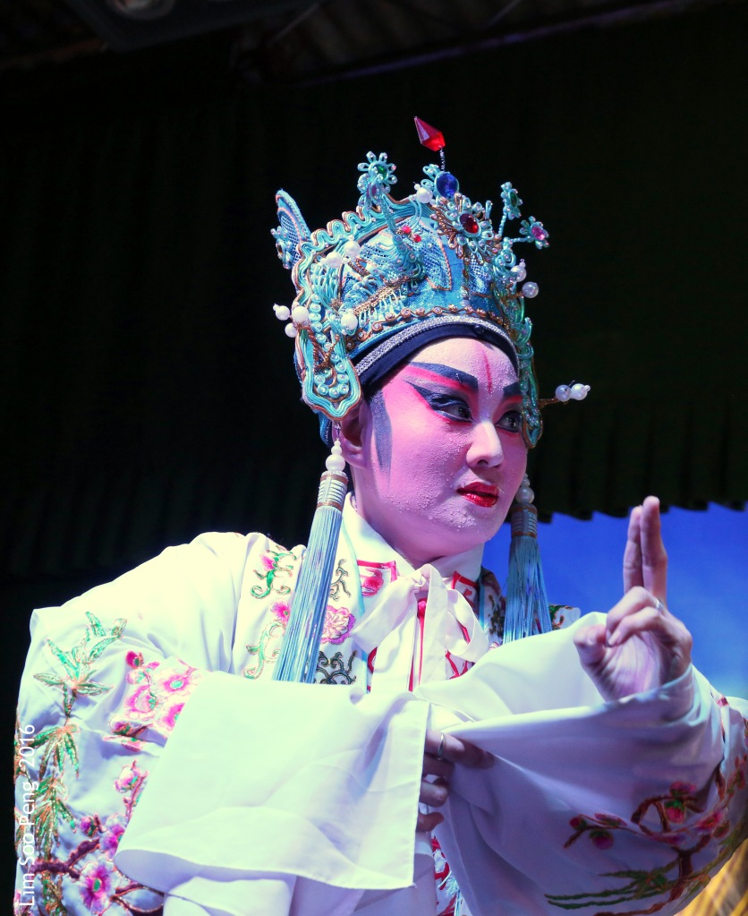 "My Wayang or Chinese Opera Photography started from last night. "" The Cunning and Ambitious Prince """