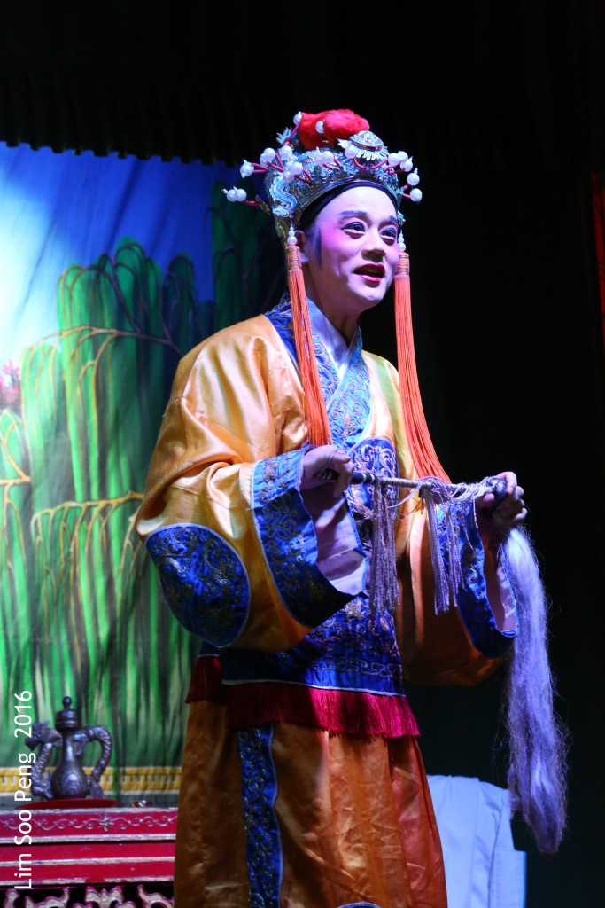 "My Wayang or Chinese Opera Photography started from last night. - ""The Eunuch"""