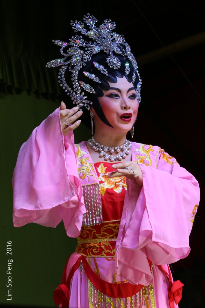 "My Wayang or Chinese Opera Photography started from last night. "" The Princess """