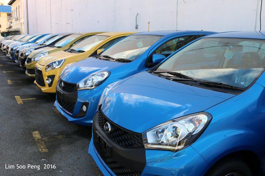 Perodua Car Models - Axia, Myvi or Bezza