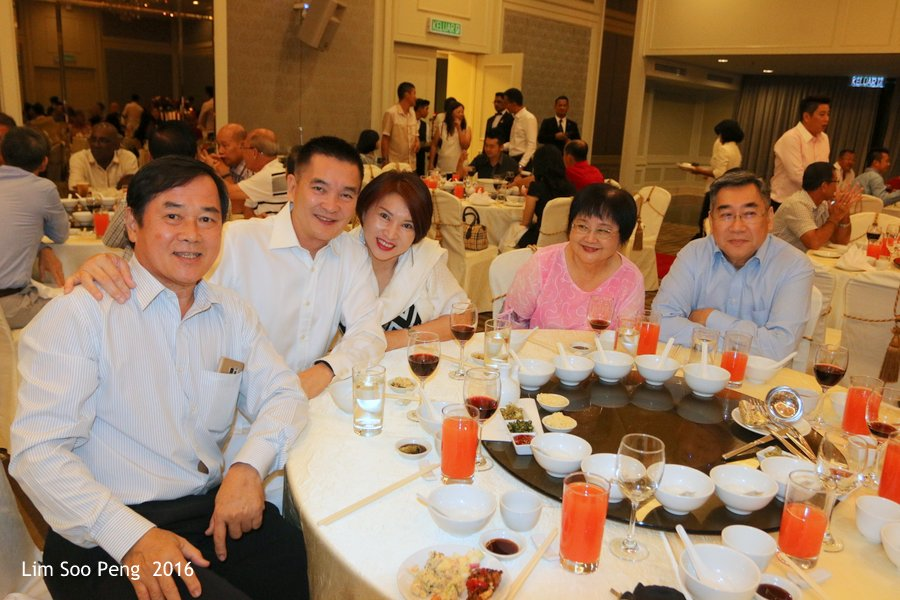 Wedding Dinner of Cody Chu and Grace Teoh on Friday, September 9, 2016 at E & O Hotel, Penang.