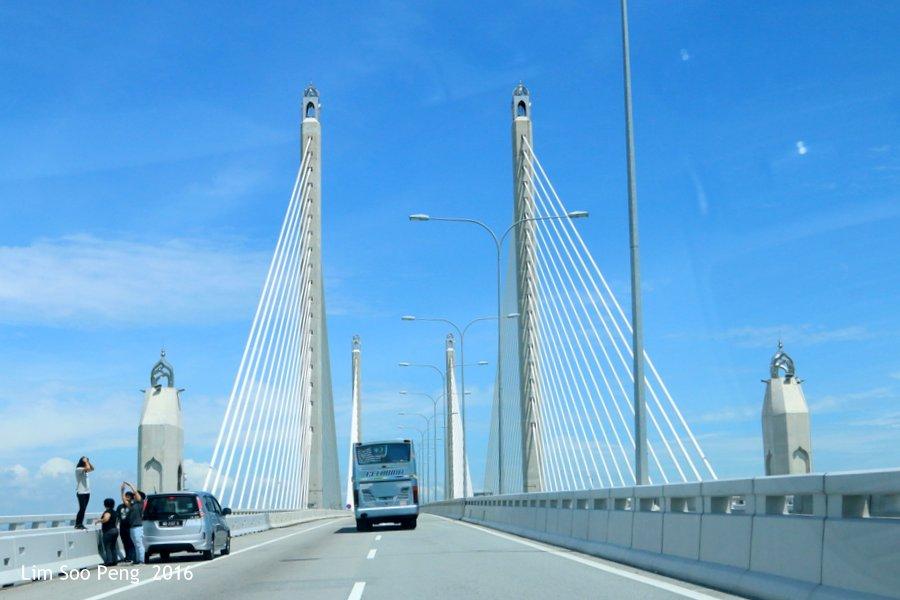 The Sultan Abdul Halim Muadzam Shah Bridge or Penang Second Bridge.