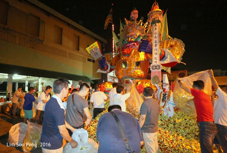 Historical final burning of Prai's Tai Soo Yah ~ Part 3