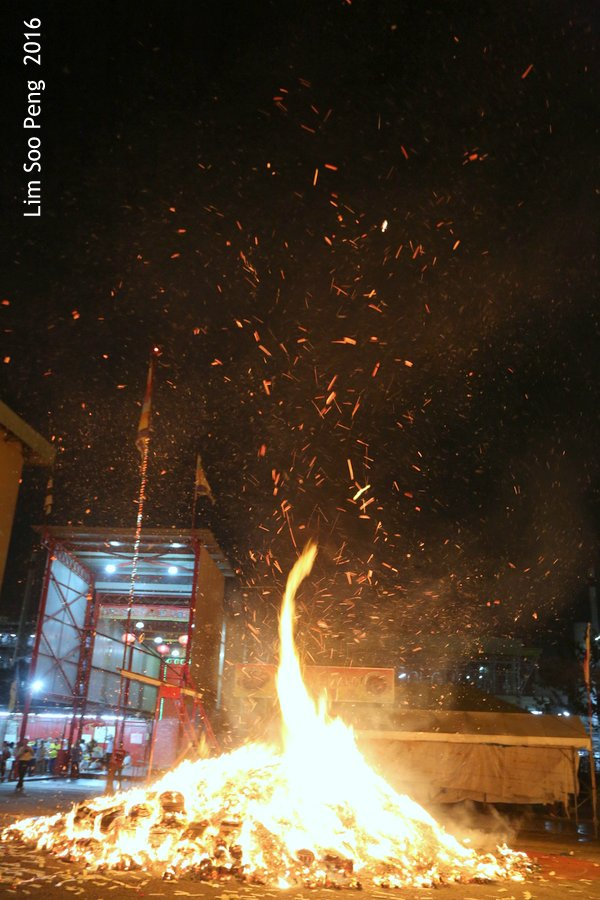 Historical final burning of Prai's Tai Soo Yah ~ Part 4
