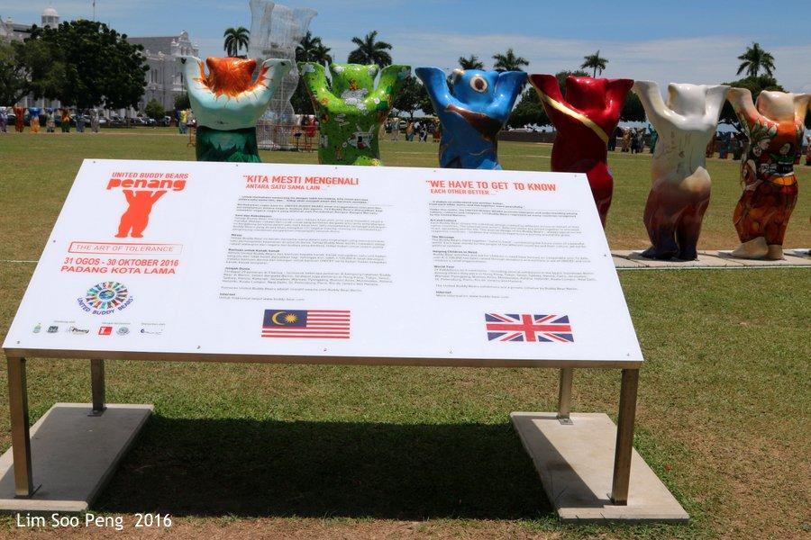 United Buddy Bears Penang at Esplanade