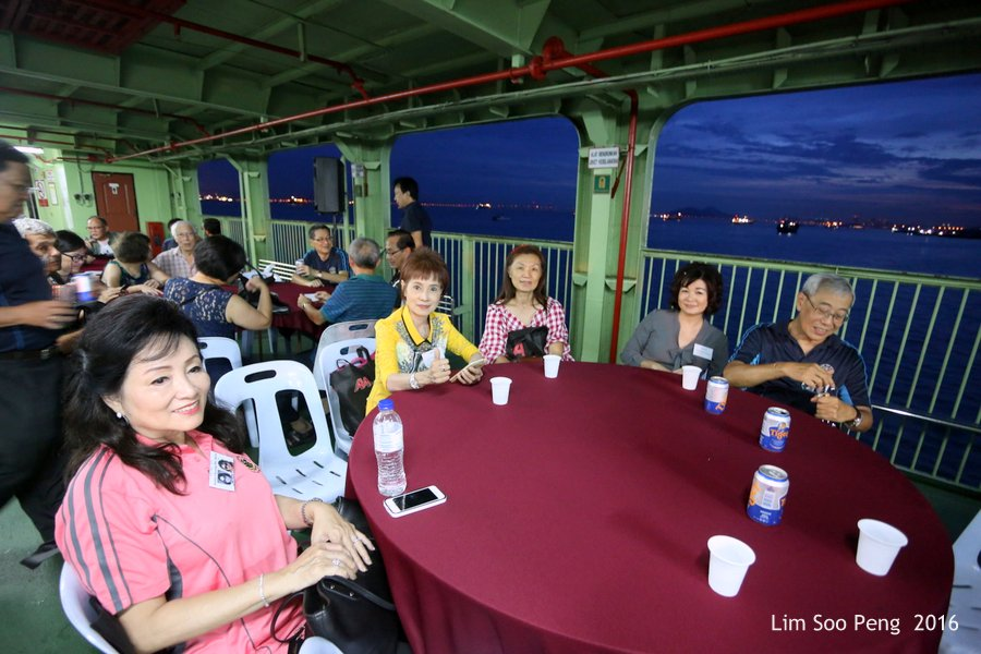 Ferry Cruise of Penang Free School Class of 1964 to 1970 ~ Part 5 on Thursday, October 20, 2016