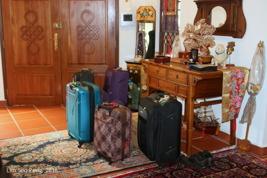 Our Family Adventure in Myanmar or Burma ~ Day 2 _ The luggage are ready for travel.