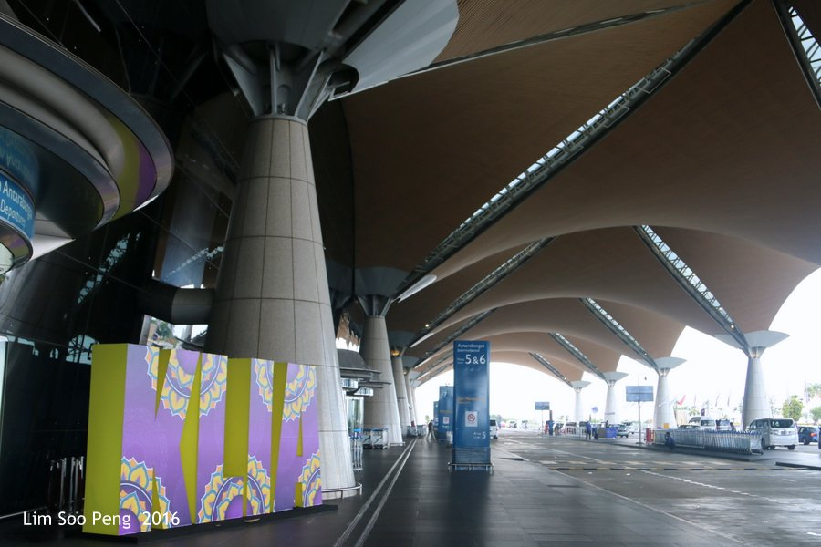 Our Family Adventure in Myanmar or Burma ~ Day 2 - Inside the KLIA.