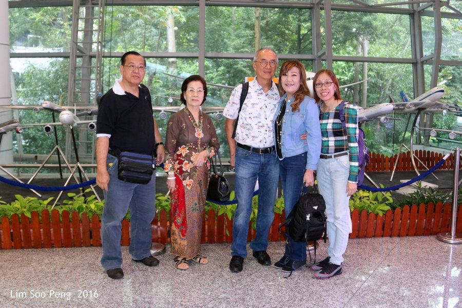 Our Family Adventure in Myanmar or Burma ~ Day 2.1 - The Group with my mother, brother-in-law Dennis, sister Cindy and her secretarial assistant Han.