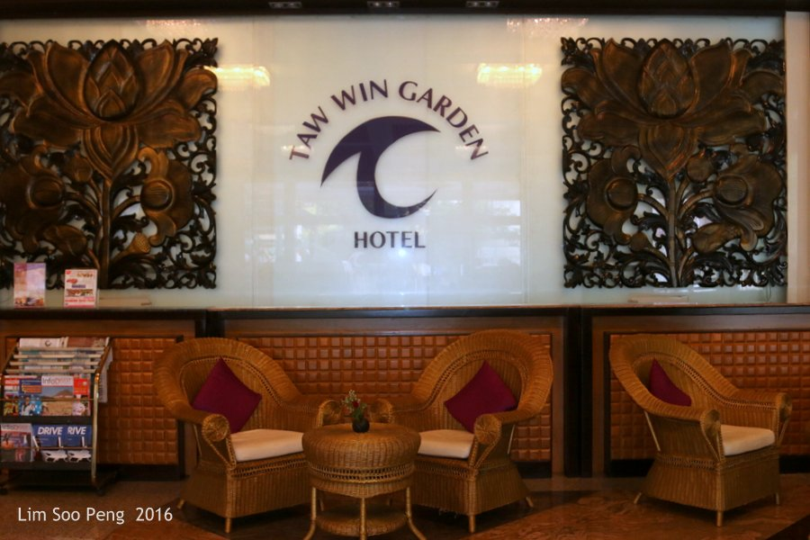 Our Family Adventure in Myanmar or Burma ~ Day 2.2 - Our hotel for the first night at Yangon is the Taw Win Hotel.