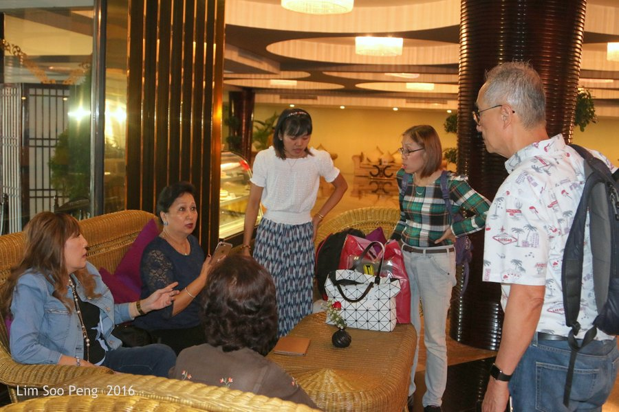 Our Family Adventure in Myanmar or Burma ~ Day 2.2 - Met by a friend at Taw Win Hotel.