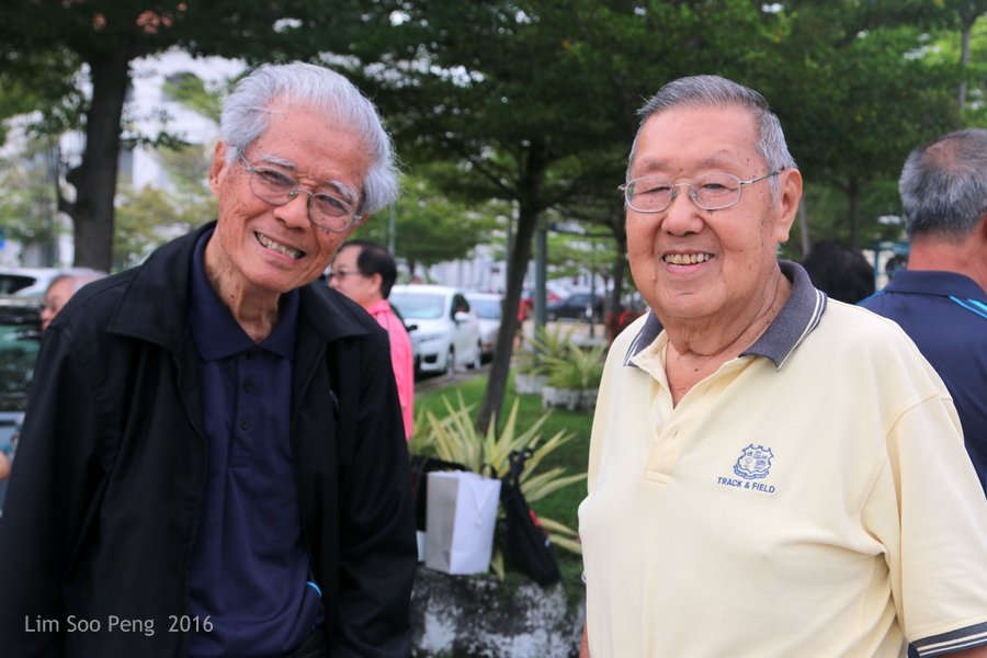PFS Ferry Cruise and Bicentenary Dinner of Class of 1964 - 1970. Our former Headmasters of Penang Free Schoo;l.