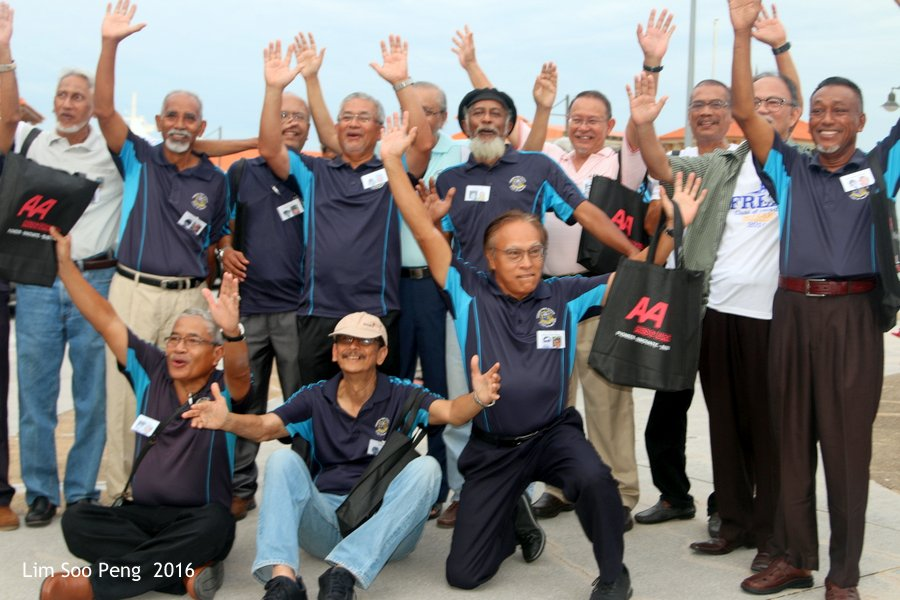 PFS Ferry Cruise and Bicentenary Dinner of Class of 1964 - 1970. What a joyous moment!