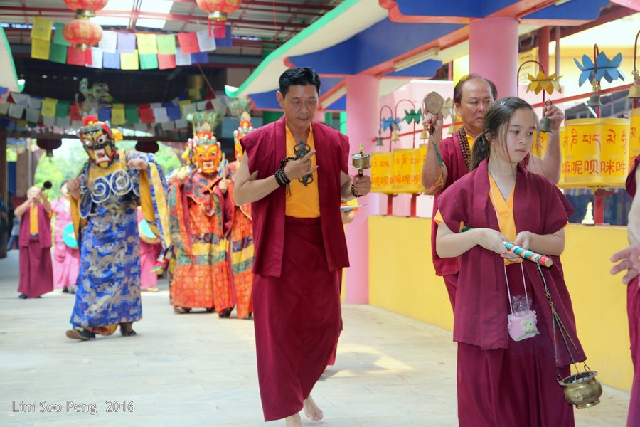 Medicine Buddha Ceremony of the Ipoh Tibetan Temple at Tambun, Perak ~ Part 2
