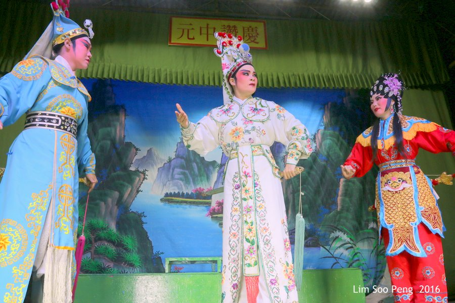 From the Wayang or Chinese Opera performed in Penang.