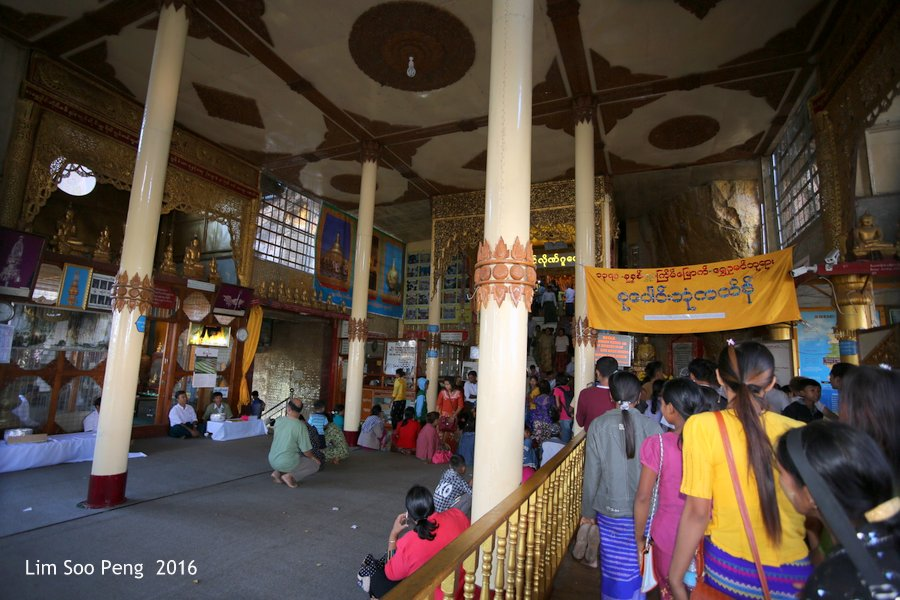 Day 2.4 in Myanmar - From the ground floor to Pindaya Caves by elevators or lifts