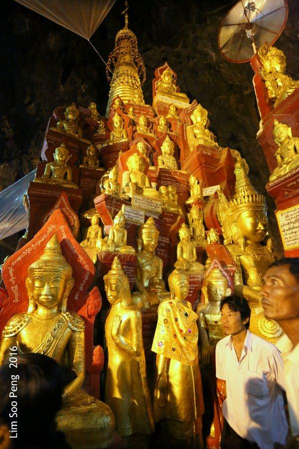 Day 2.7 - Pindaya Caves of Pindaya, Shan State, Burma (Myanmar)