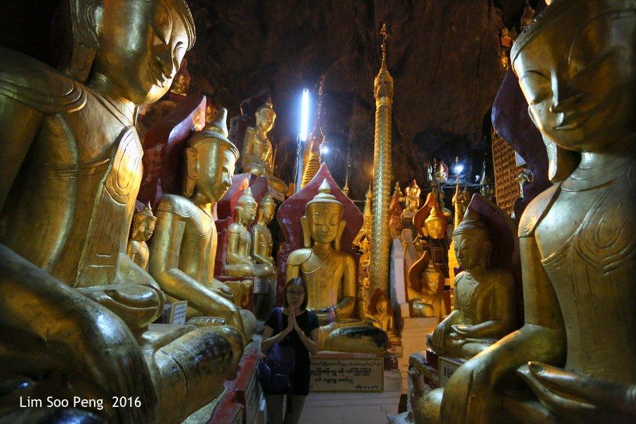 Day 2.10 - Pindaya Caves of Pindaya, Shan State, Burma (Myanmar)