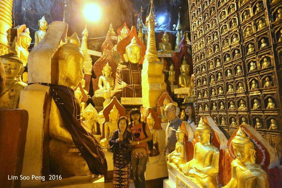 Day 2.11 - Pindaya Caves of Pindaya, Shan State, Burma (Myanmar)