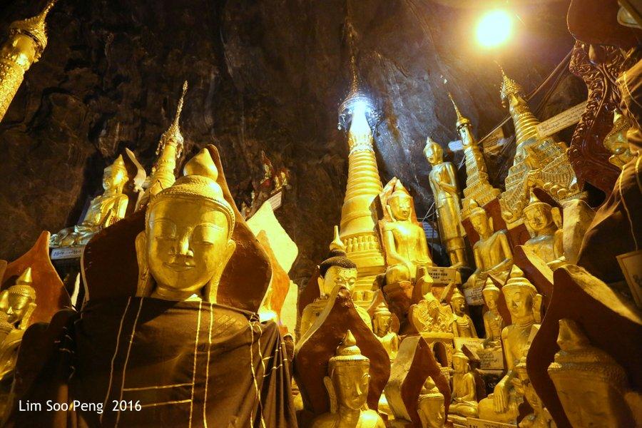 Day 2.13 - Pindaya Caves of Pindaya, Shan State, Burma (Myanmar)