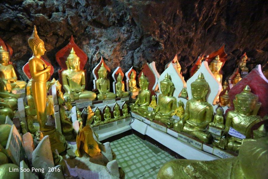Day 2.12 - Pindaya Caves of Pindaya, Shan State, Burma (Myanmar)