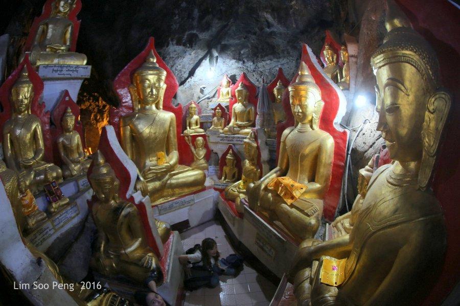 Day 2.14 - Pindaya Caves of Pindaya, Shan State, Burma (Myanmar)