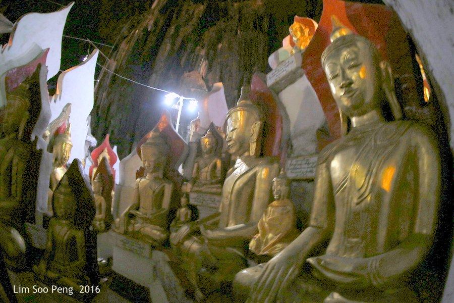 Day 2.15 - Pindaya Caves of Pindaya, Shan State, Burma (Myanmar)