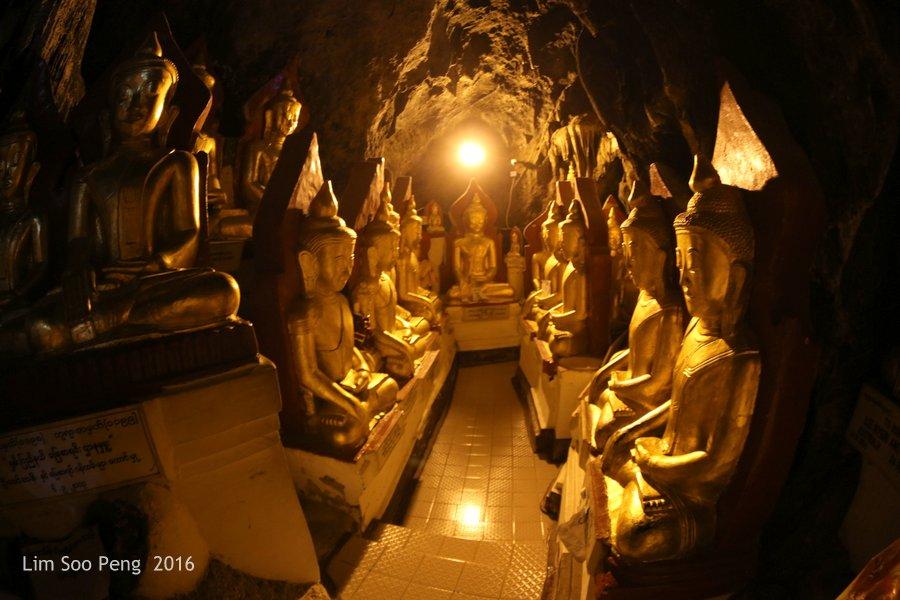 Day 2.16 - Pindaya Caves of Pindaya, Shan State, Burma (Myanmar)