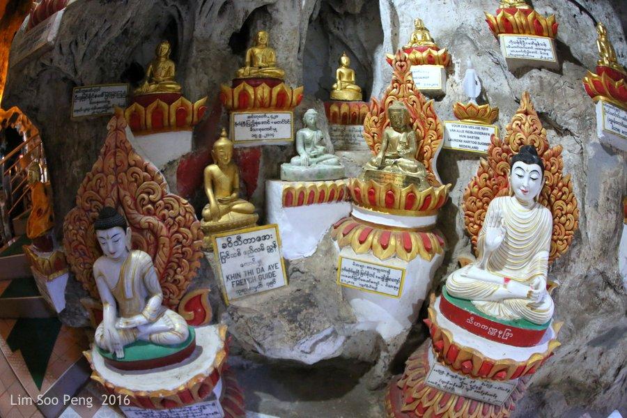 Day 2.17 - Pindaya Caves of Pindaya, Shan State, Burma (Myanmar)