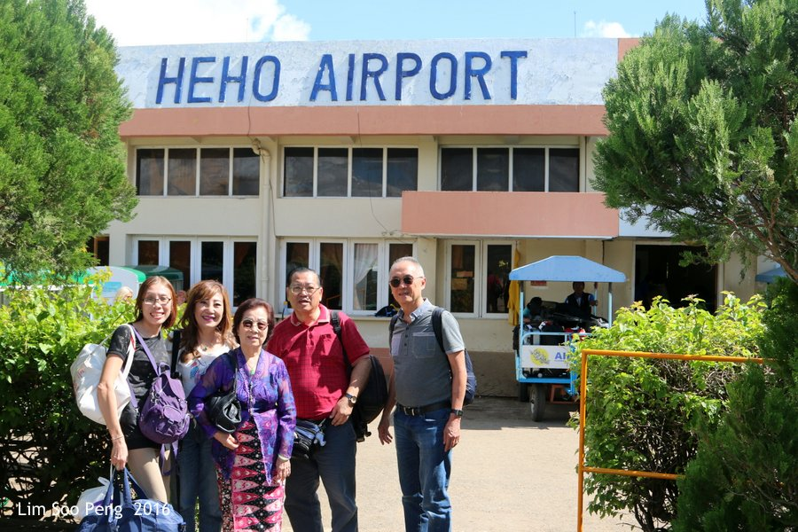 Day 2.1 in Myanmar - From Yangon to Heho. Safely landed at Heho Airport.