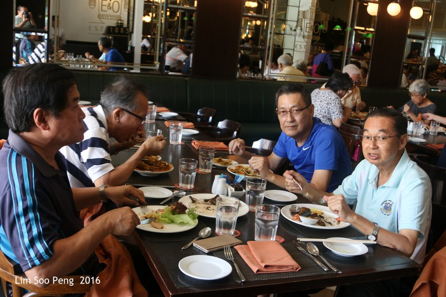 Last Luncheon of 2016 for Penang Lang of PFS Class 64 to 70