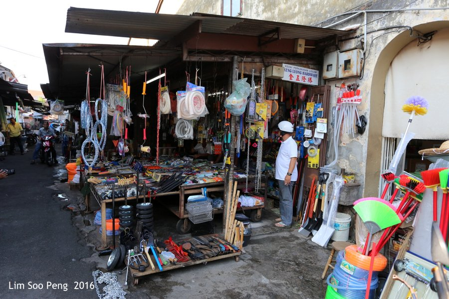 "George Town's Street Photography - Hardware Stores at ""Thief Site""."