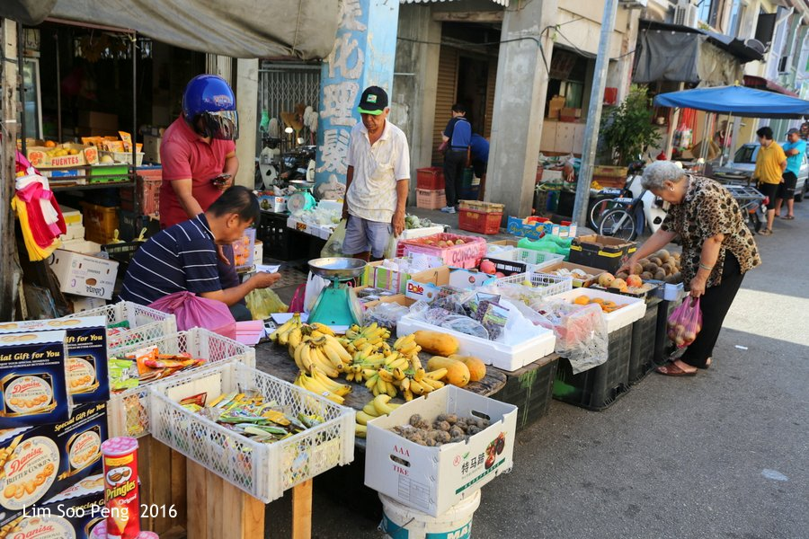 George Town's Street Photography - Fruits Store