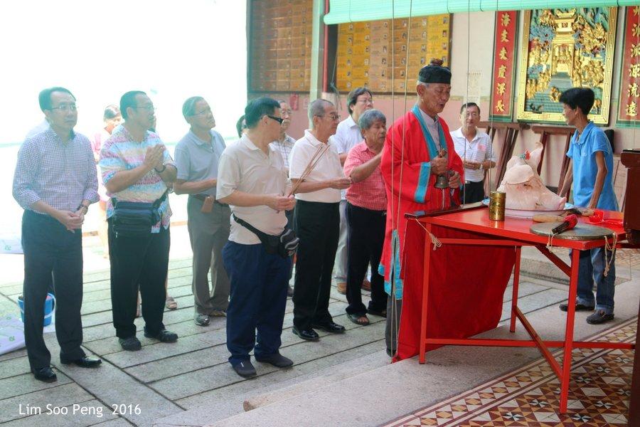 Tung Chek ( Dongzhi or Winter Solstice ) at Kew Leong Tong Lim Kongsi, Penang