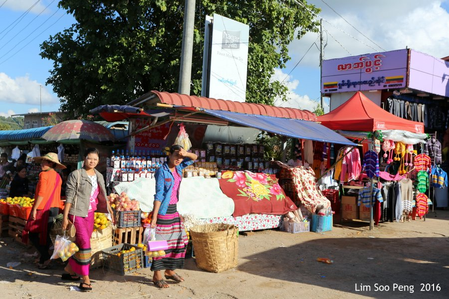 At the Market in Myanmar