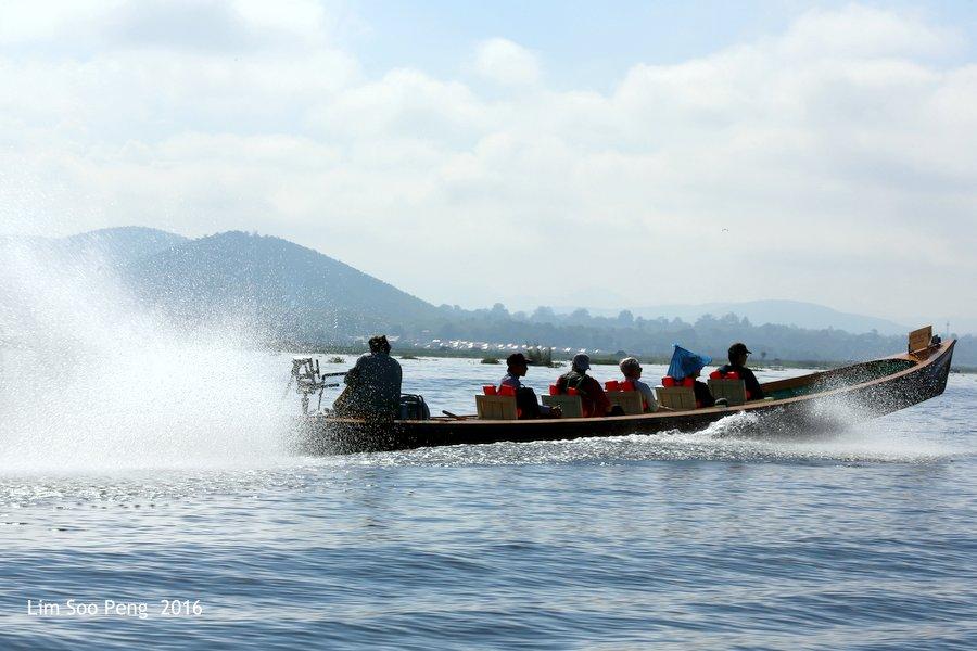 Water transport at Inle Lake