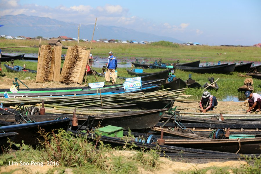 Day 4.5 - Our Burma Tour ~ Water Tour of Inle Lake
