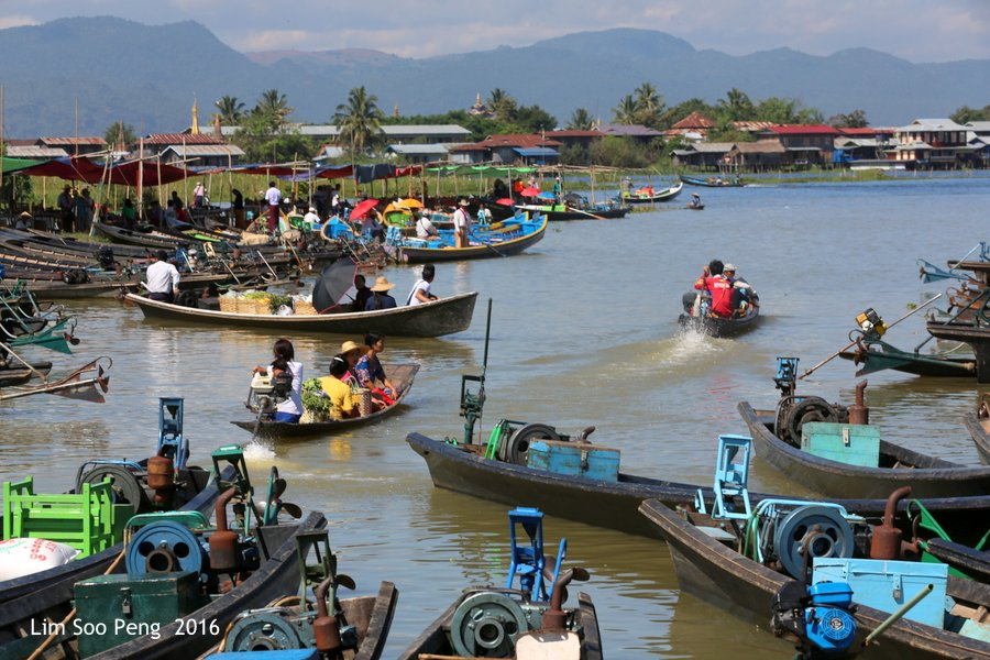 Day 4.6 - Our Burma Tour ~ Water Tour of Inle Lake