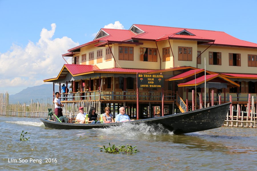 Day 4.8 - Our Burma Tour ~ Water Tour of Inle Lake
