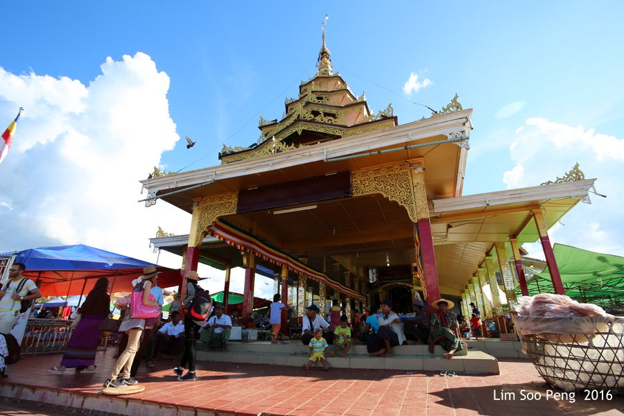 Hpaung Daw U Pagoda of Inle Lake, Shan State, Myanmar ~ Take 1
