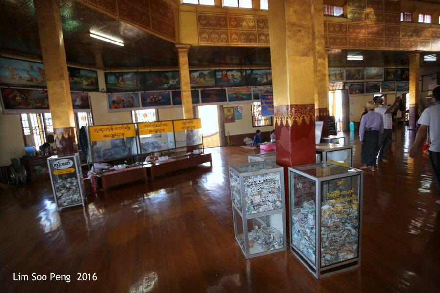 Hpaung Daw U Pagoda of Inle Lake, Shan State, Myanmar ~ Take 1
