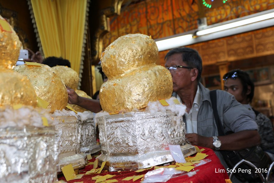 Hpaung Daw U Pagoda of Inle Lake, Shan State, Myanmar ~ Take 2