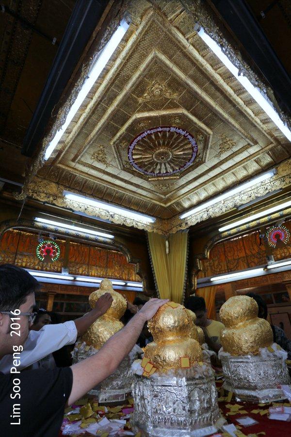 Hpaung Daw U Pagoda of Inle Lake, Shan State, Myanmar ~ Take 2