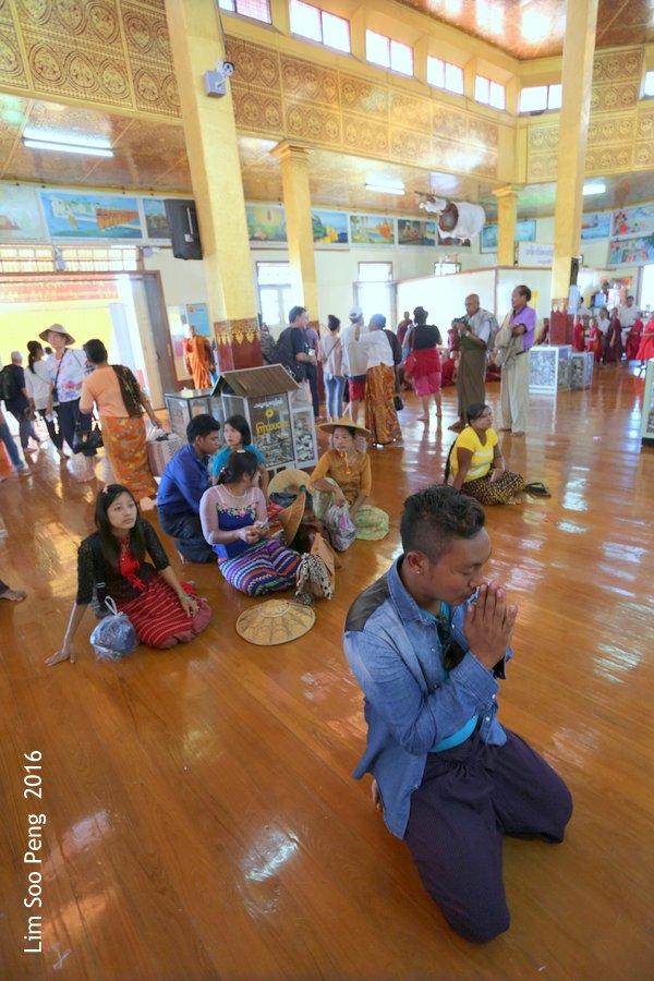 Hpaung Daw U Pagoda of Inle Lake, Shan State, Myanmar ~ Take 3