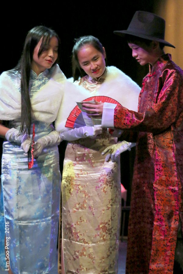 The Golden Age of Shanghai ~ a singing concert by Serene Yoon at Studio 1 of the Performing Arts Centre of Penang..